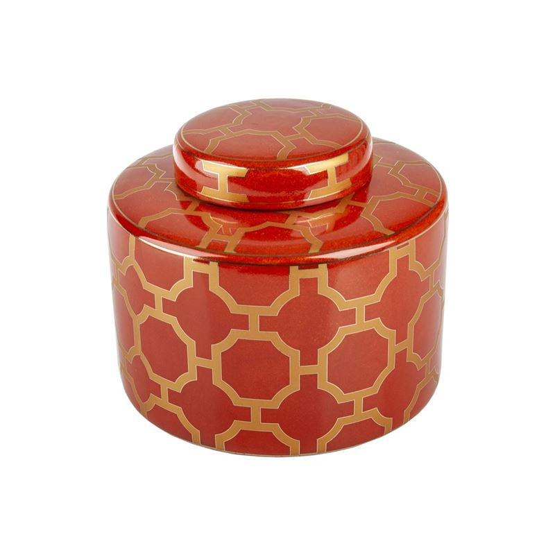 Pimbleton – Luxe Belmont Round Temple Jar 17cm