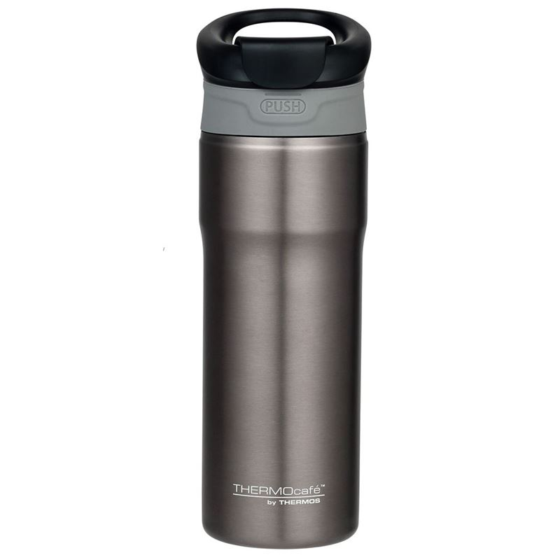 THERMOcafé™ by Thermos – Stainless Steel Vacuum Insulated Tumbler 450ml Smoke