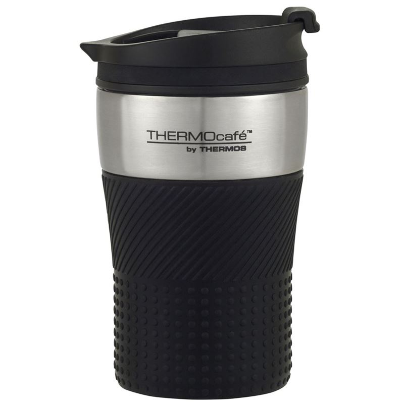 THERMOcafé™ by Thermos – Stainless Steel Vacuum Insulated Coffee Cup Black