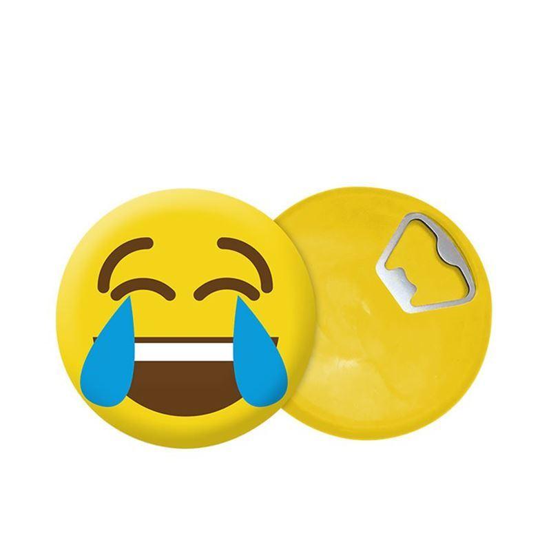 Vin Bouquet – Emoticon Faces Bottle Opener with Magnet Assort