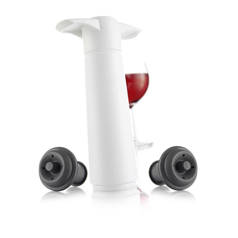 Vacu Vin – Wine Saver Gift Set White
