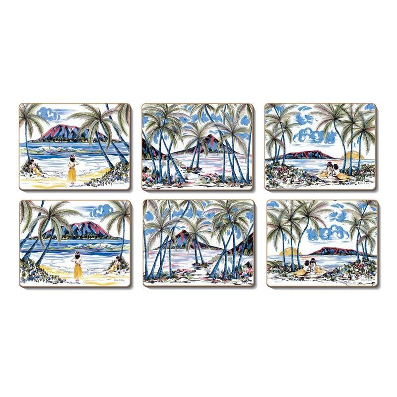 Cinnamon – Hawiian Holiday Coasters 11×9.5cm Set of 6