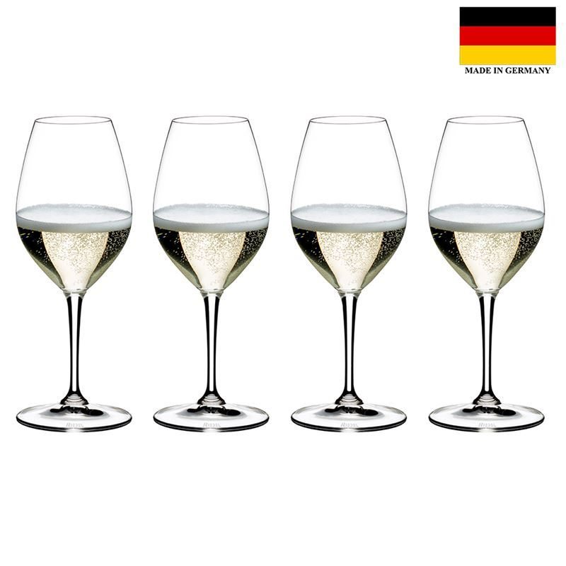 Riedel Vinum – Champagne Wine 4pc SPECIAL PACK (Made in Germany)