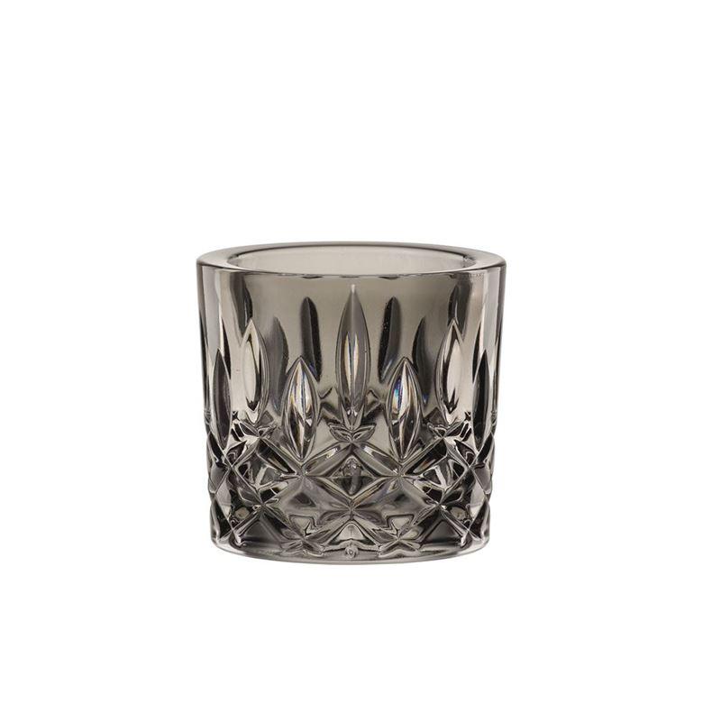 Nachtmann Crystal – Noblesse Votive Smoke 6.6cm  (Made in Germany)