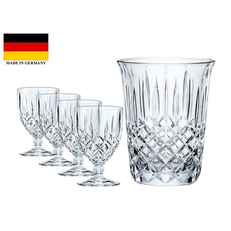 Nachtmann Crystal – Noblesse Wine 5pc Set (Made in Germany)