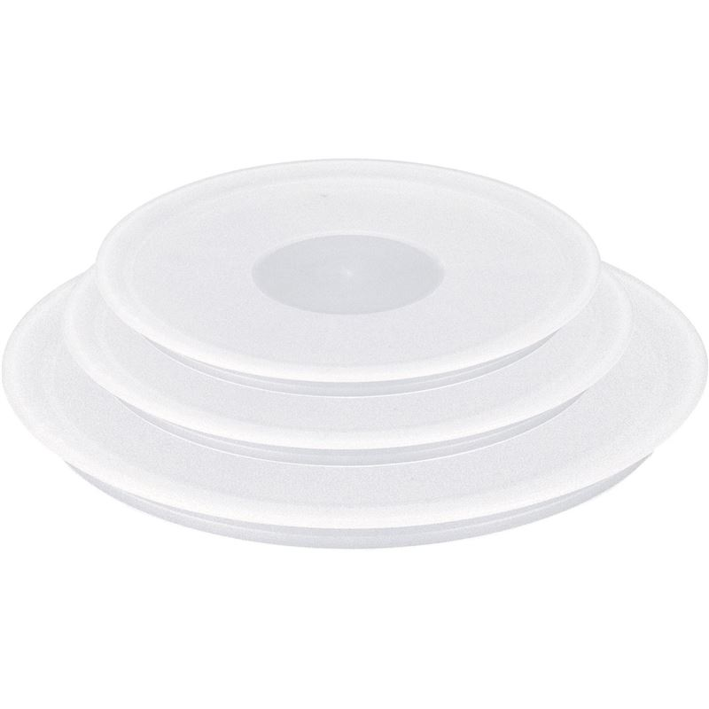 Tefal – Ingenio Space Saving Set of 3 Plastic Lids