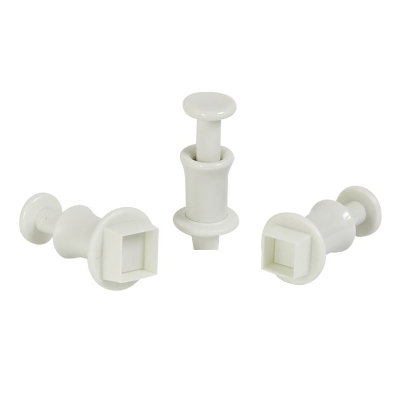 Mondo – Square Plunger Cutter Set of 4