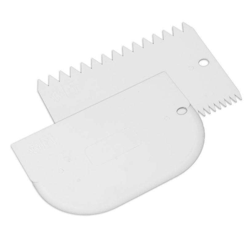 Mondo – Icing Comb and Bowl Scraper Set of 2