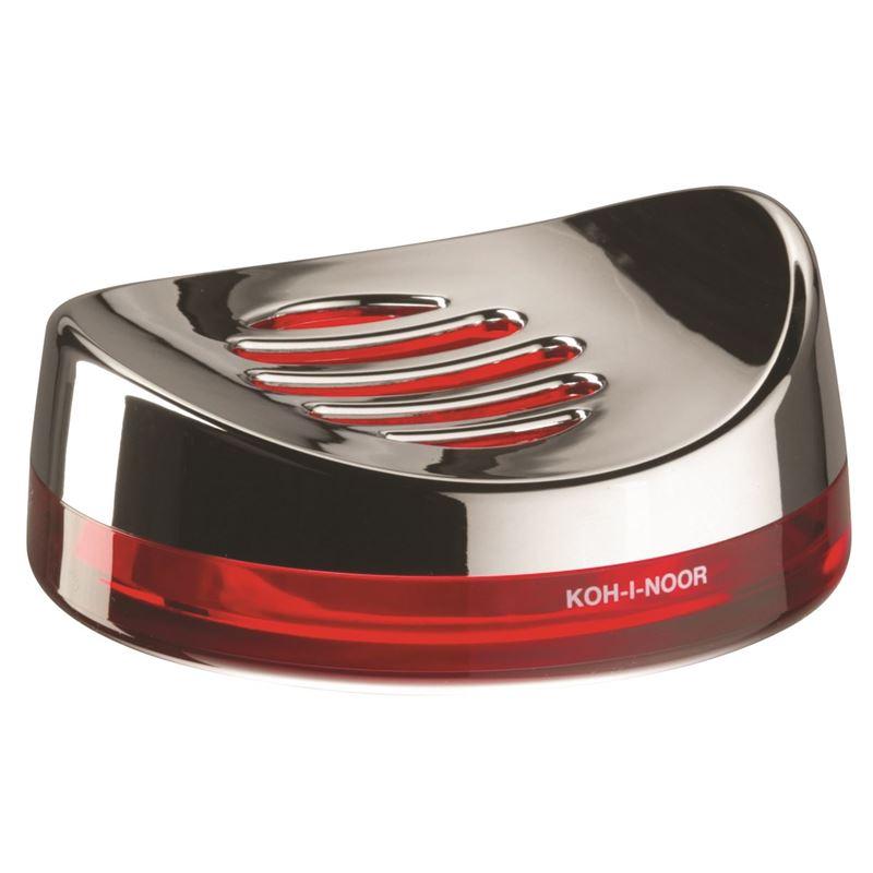 Koh-I-Noor – Skatto Soap Dish Red (Made in Italy)
