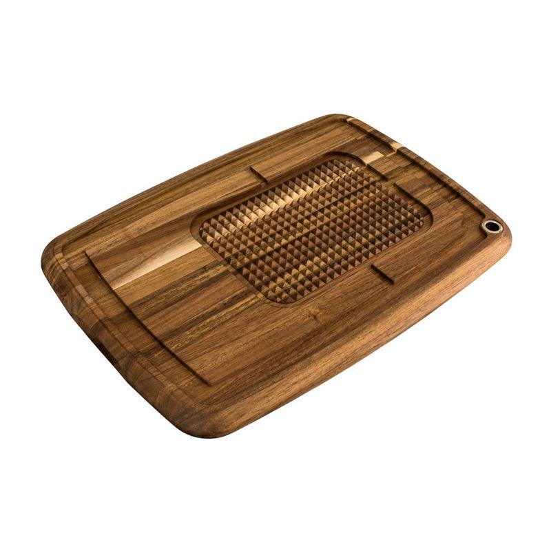 Peer Sorensen – Acacia Long Grain Reversible Chopping Board with Feet 56x39x3.8cm