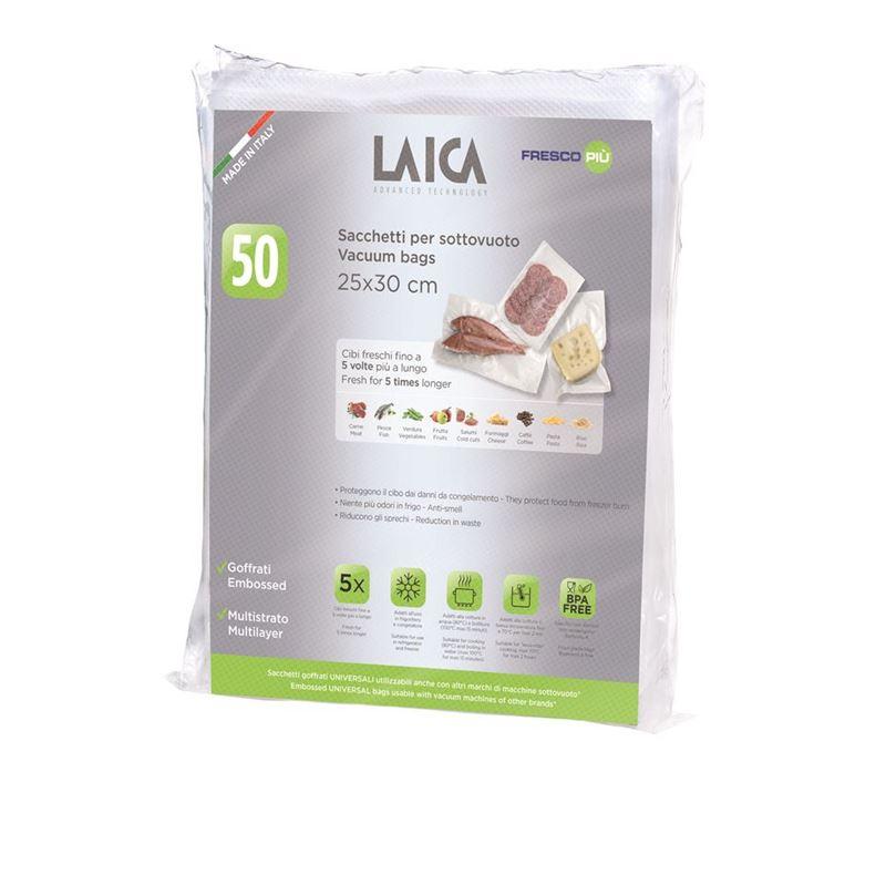 Laica – Vacuum Bags 25x30cm Pack of 50