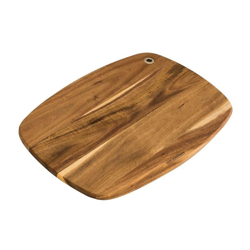 Peer Sorensen – Acacia Slim Line Curved Chopping Board 37x27x1.2cm