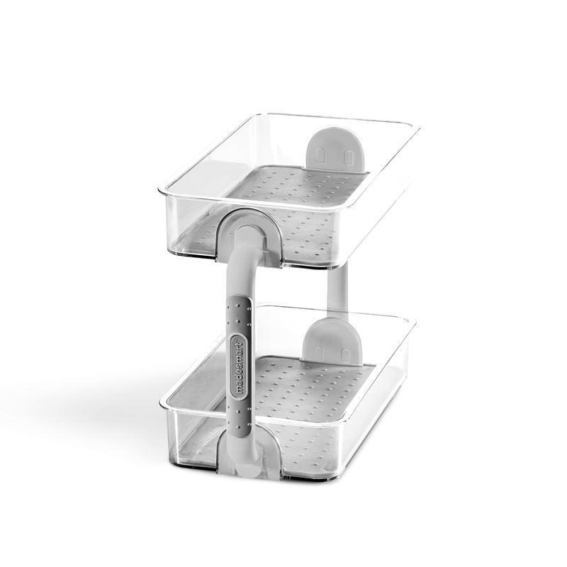 Made Smart – Clear 2 Tier Spice Organiser 26.4×12.6×18.3cm