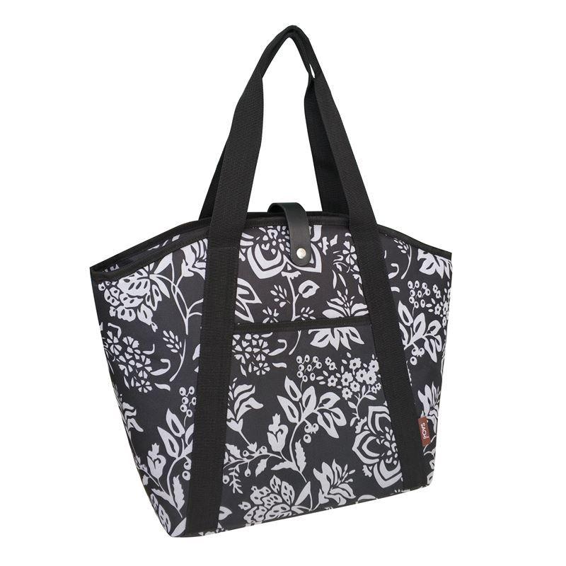 Sachi – Insulated Cooler Shopping Bag Camelia Black