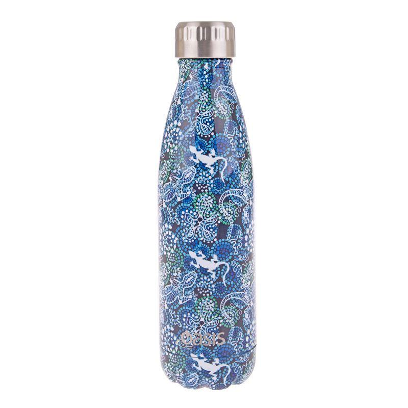Oasis – Insulated Drink Bottle 500ml Goanna