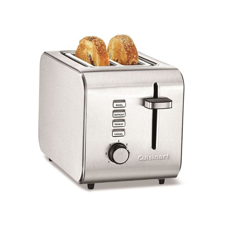 Cuisinart –  2 Slice Toaster Brushed Stainless Steel