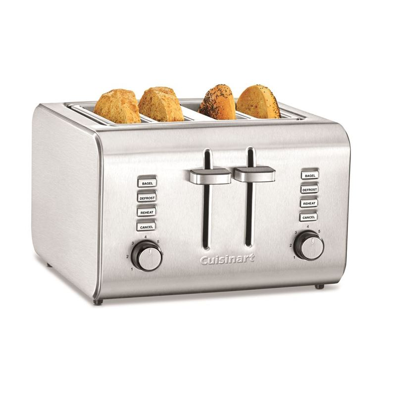 Cuisinart –  4 Slice Toaster Brushed Stainless Steel