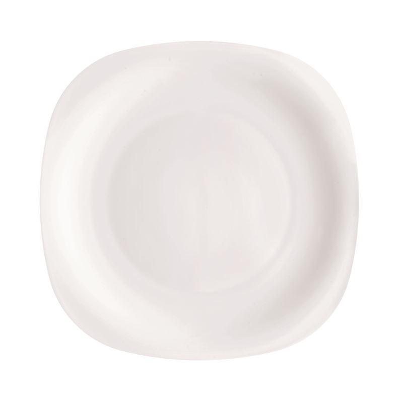 Bormioli Rocco nOpal nToughened Glassn nSquare Restaurant Plate 31cm (Made in Spain)