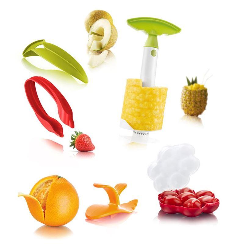 Tomorrow's Kitchen – 5pc Fruit Set with Tomato Saver Box