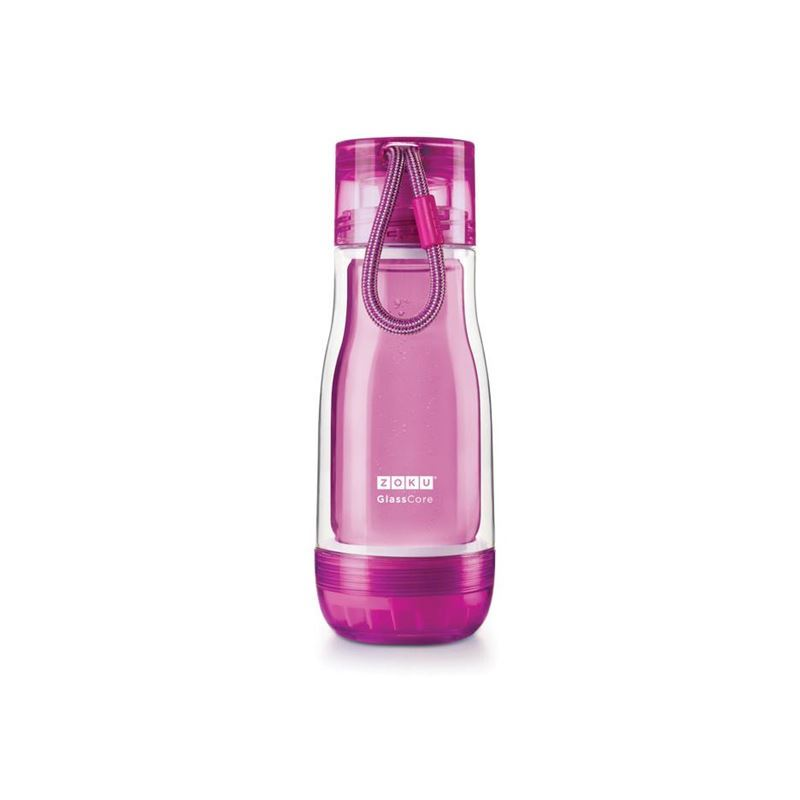 Zoku – Everyday Glass Core Bottle 355ml Purple
