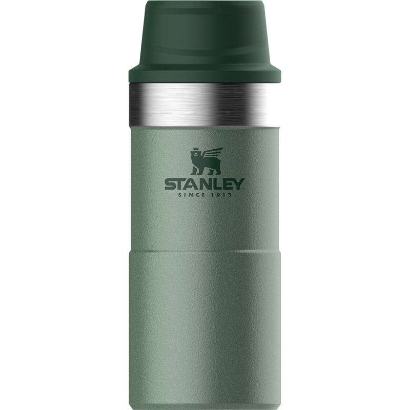 Stanley – Hammertone Green Trigger Action Double Wall Vacuum Insulated Travel 350ml Mug