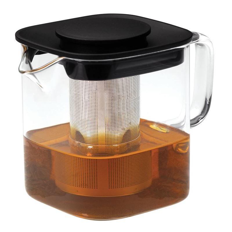 Avanti – Oslo Square Glass Tea Pot 1Ltr
