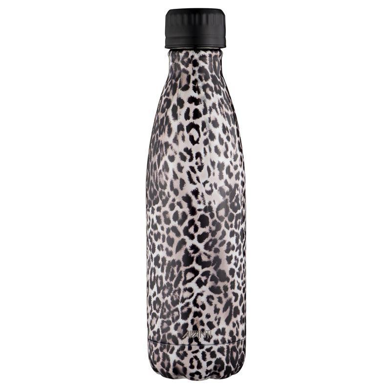 Avanti – Fluid Vacuum Stainless Steel Bottle 500ml Leopard