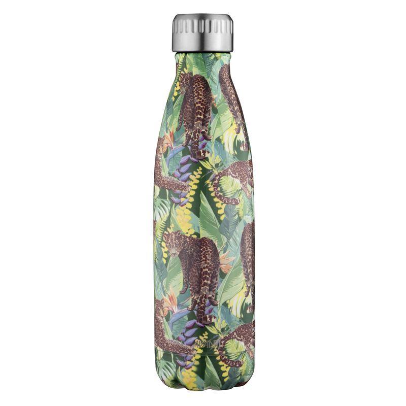 Avanti – Fluid Vacuum Stainless Steel Bottle 500ml Tropical Leopard