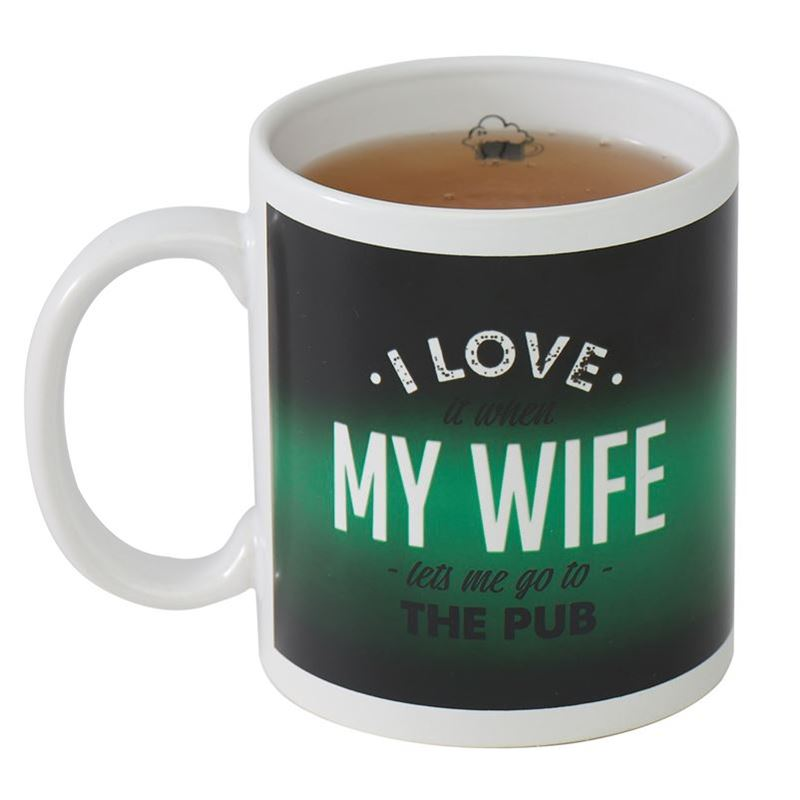 Giftworks – I Love My Wife Colour Changing Mug