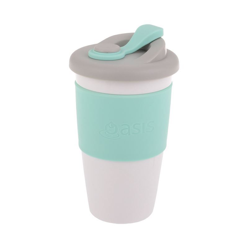 Oasis – Biodegradable Eco Reusable Coffee Cup 454ml Spearmint
