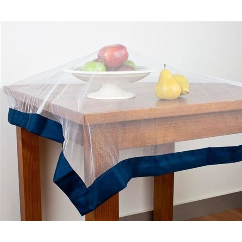 Appetito No Fly Zone – Throw Over Food Cover Navy 96x96cm