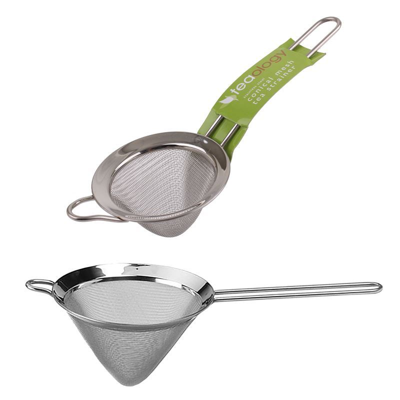 Teaology – Stainless Steel Conical Mesh Tea Strainer
