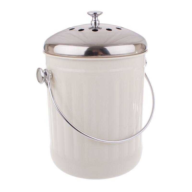 Appetito – Compost Bin 5Ltr White