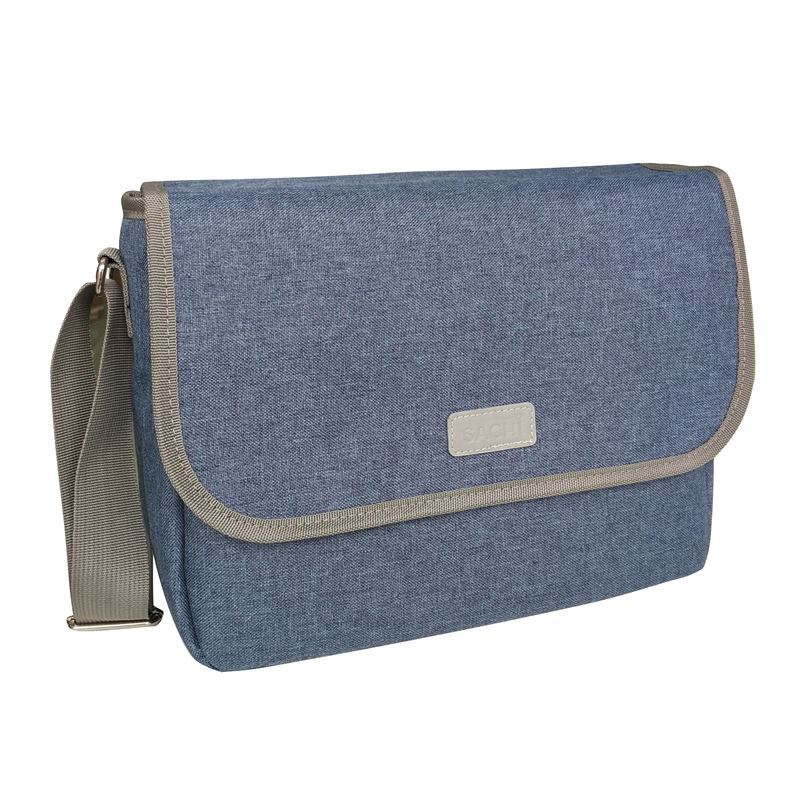 Sachi – Style 195 Insulated Laptop & Lunch Carry Case – Blue Denim