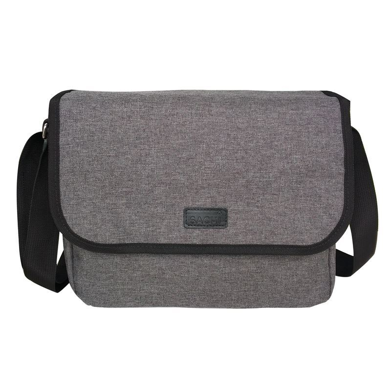 Sachi – Style 195 Insulated Laptop & Lunch Carry Case – Charcoal