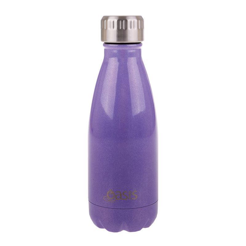 Oasis – Insulated Drink Bottle 350ml Lustre Purple