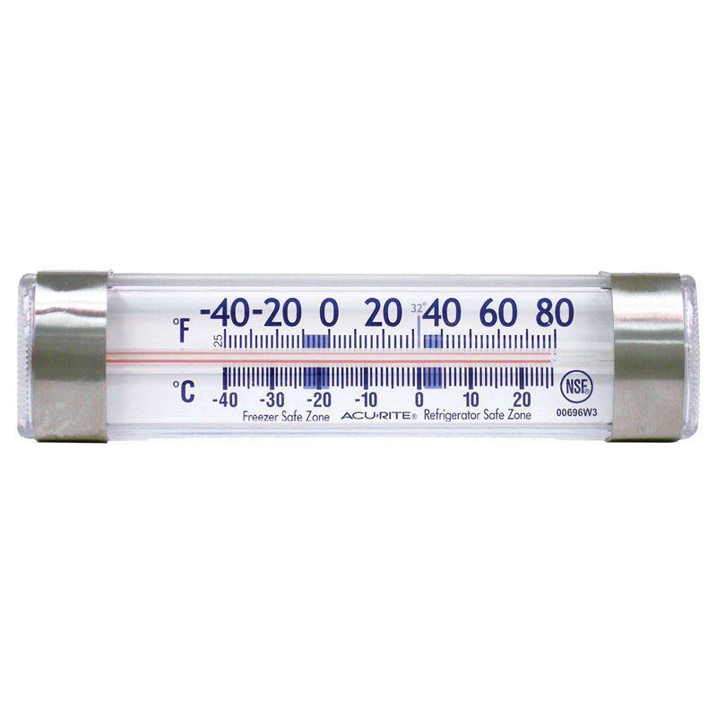 'Acu- Rite' – Refrigerator or Freezer Thermometer Bar
