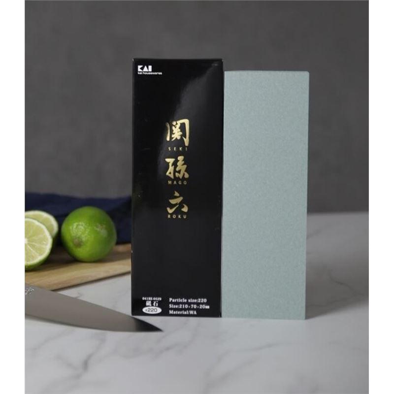 KAI – Seki Magoruku 220- Grit Whetstone (Made in Japan)