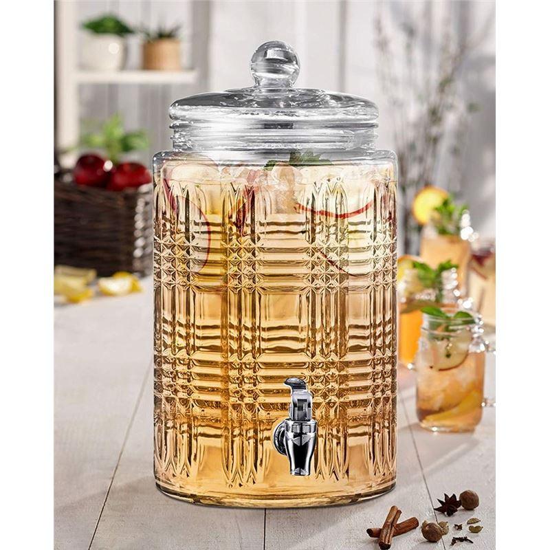 Circleware – Portland 7.5Ltr Glass Beverage Dispenser