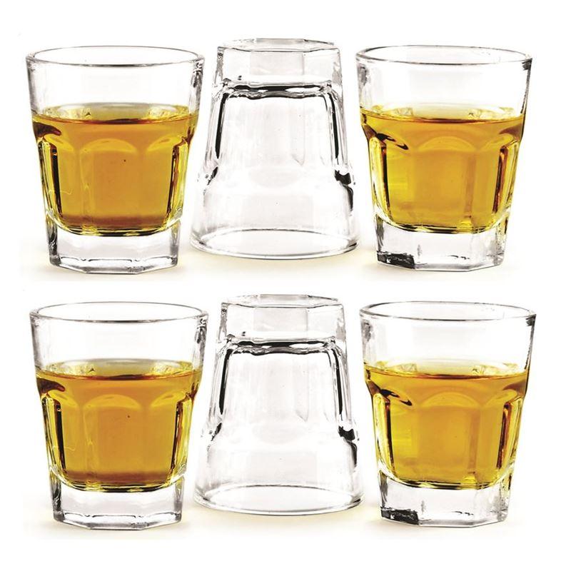 Circleware – Slingshot 50ml Glass Shot Glasses Set of 6