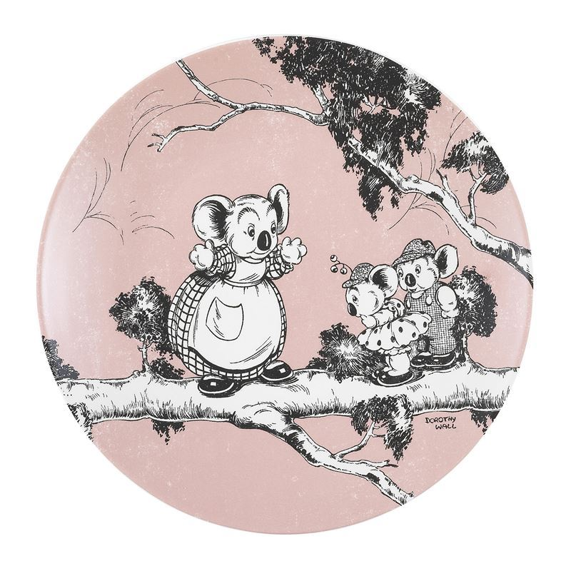 Blinky Bill by Ecology – Bone China Side Plate 20cm Coral