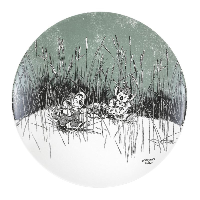 Blinky Bill by Ecology – Bone China Side Plate 20cm Green Sage