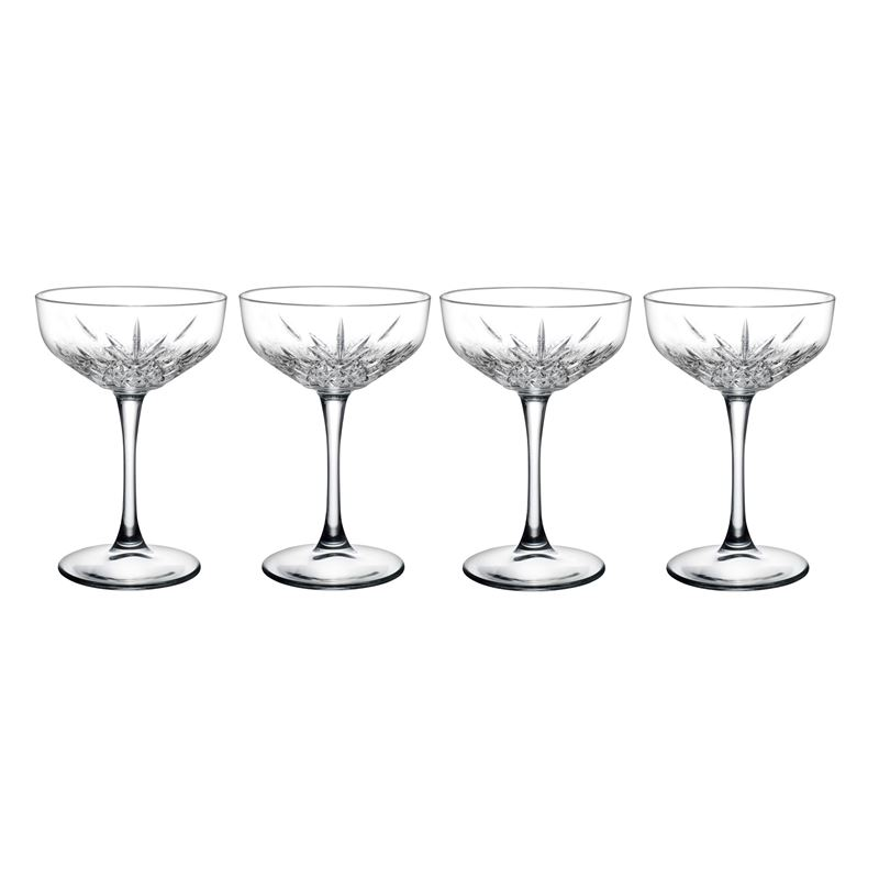 Pasabahce – Timeless Champagne Saucer 255ml Set of 4