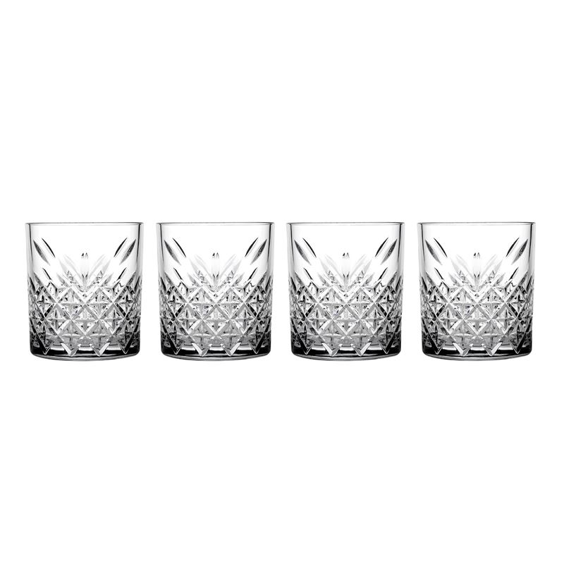 Pasabahce – Timeless Double Old Fashioned 345ml Set of 4
