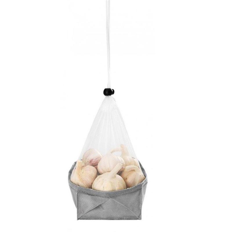 Metaltex – Mesh Foldable 3 in 1 Single Storage Basket Small 18cm