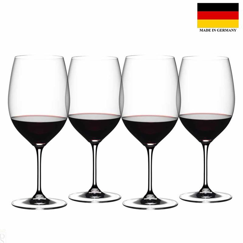 Riedel Vinum – Cabernet 4pc SPECIAL PACK (Made in Germany)