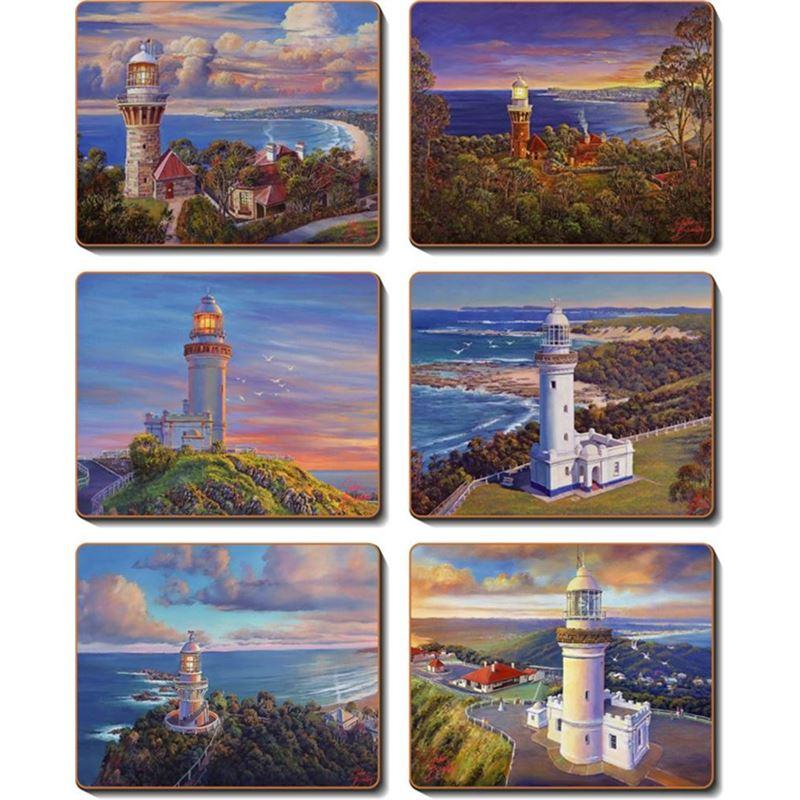 Cinnamon – Coastal Icons Coaster 11×9.5cm Set of 6