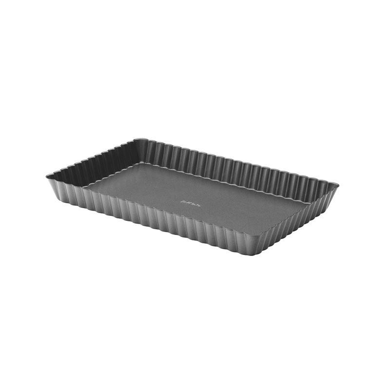 Pyrex – Platinum Non-Stick Loose Bade Wide Rectangular Tart Pan 28.5x18x2.8cm