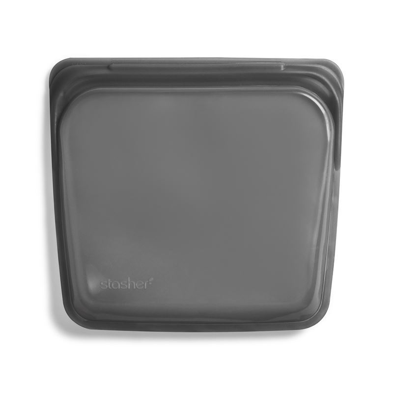 Stasher – Sandwich Bag 450ml Smoke Grey