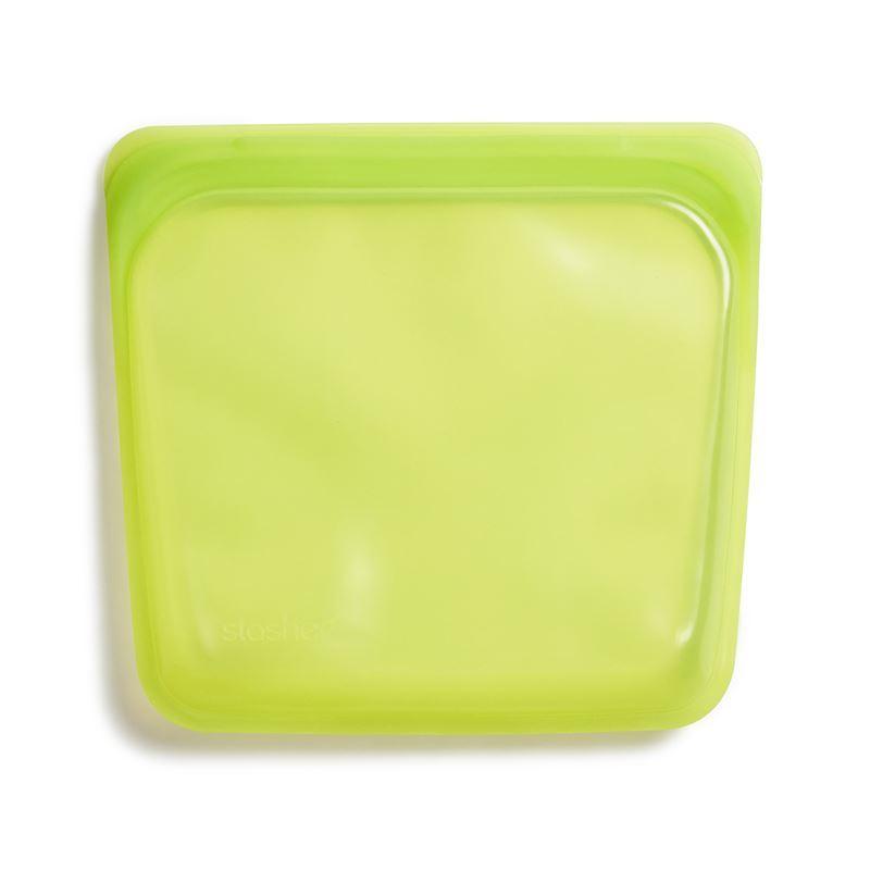 Stasher – Sandwich Bag 450ml Lime